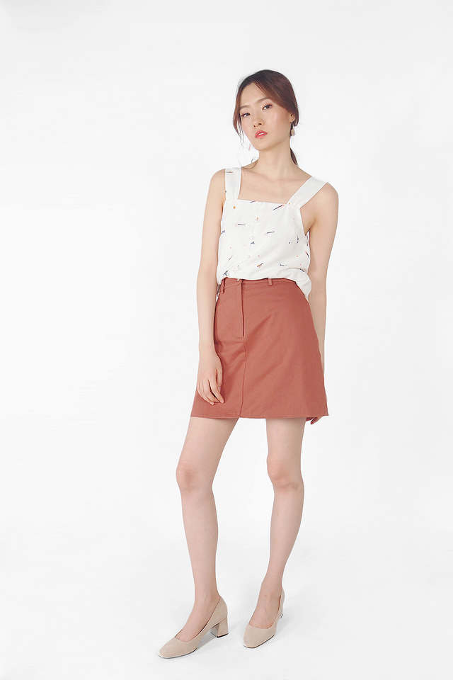 Yu Skirt (Brick)