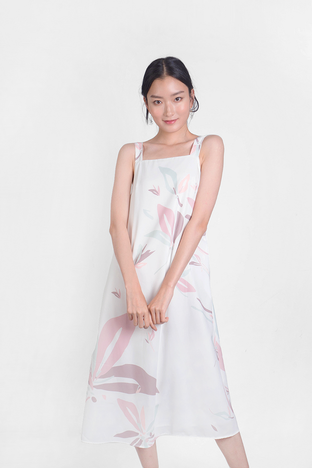 Windflower Tent Dress (White)