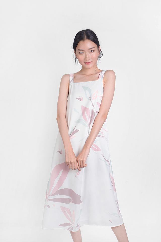 Windflower Tent Dress (White)