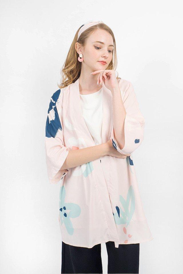 Rosette Kimono (Blush)