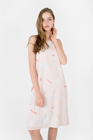 Play Cami Midi (Blush/Blue)