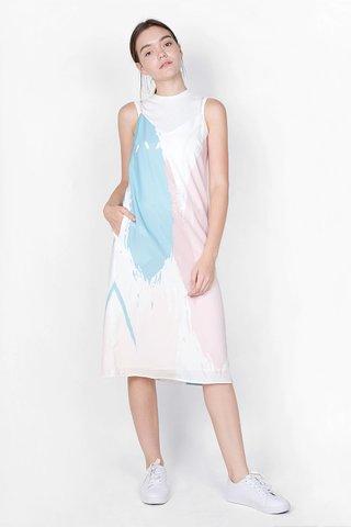 Inspire Spag Slip Dress (Mellow)