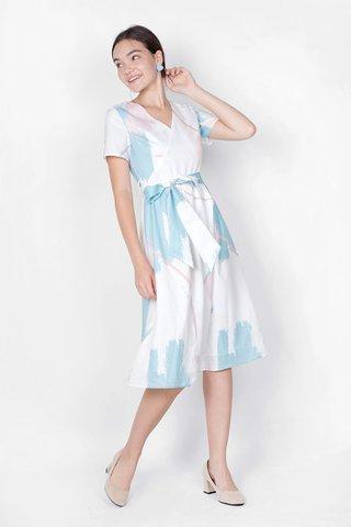 Inspire Midi Dress (White)