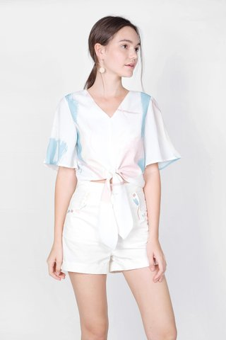 Inspire Flutter Top (White)