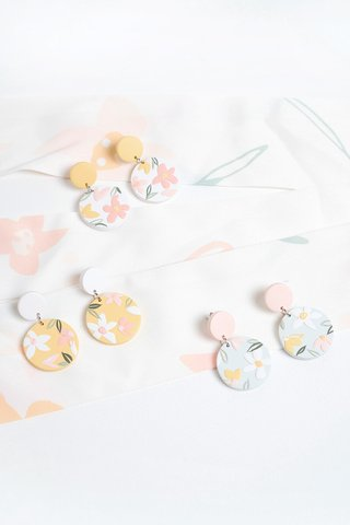 Daffodils Earrings (Round)