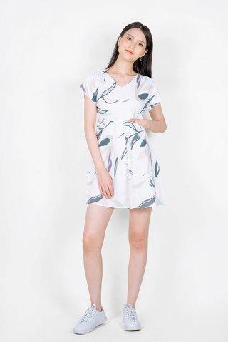 Lush Babydoll Dress (Solace Blue)