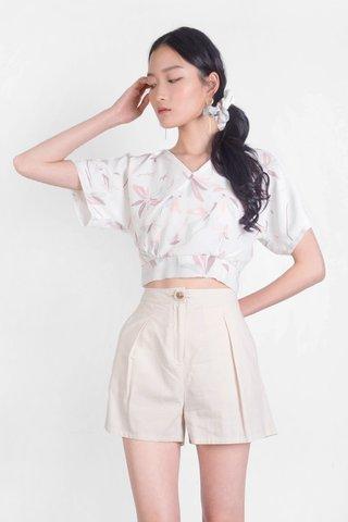 Windflower Kimono Top (White)