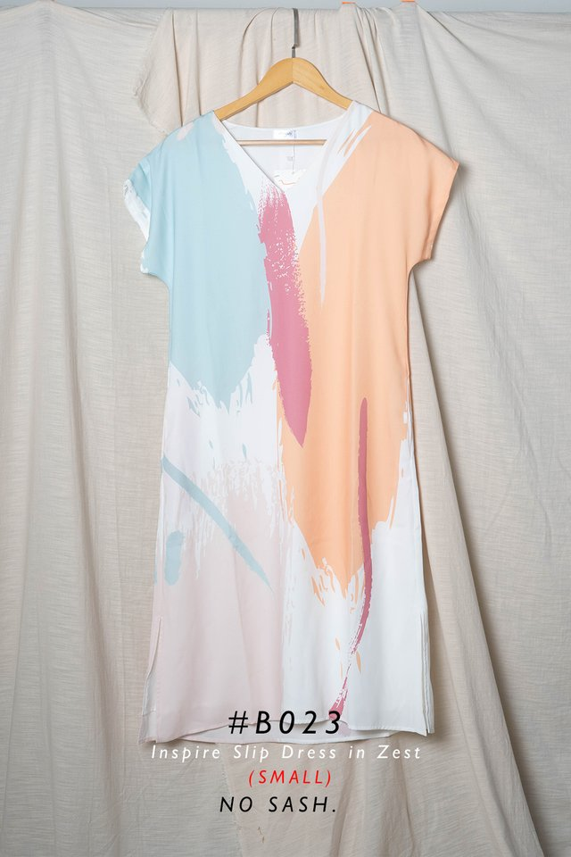 Inspire Slip Dress (Zest) - Small